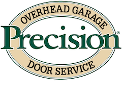 Precision Garage Door Service of Lincoln logo.
